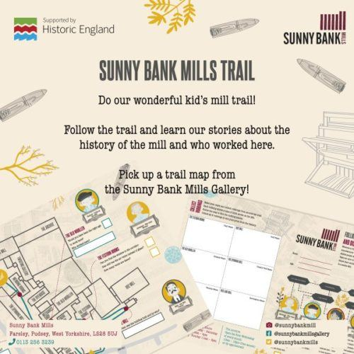 Sunny Bank Mills trail poster