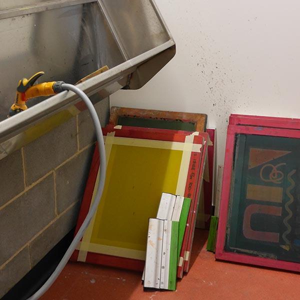 Spinning Mill Studios art equipment Sunny Bank Mills, Leeds.