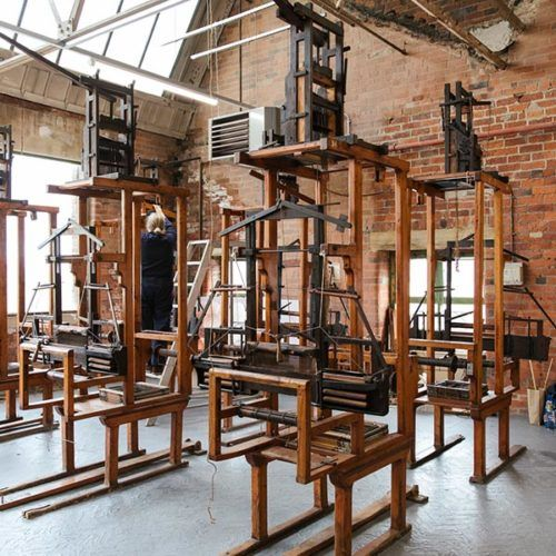 Weaving facilities at Sunny Bank Mills