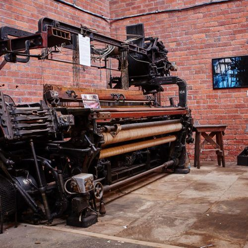 Heritage loom at Sunny Bank Mills