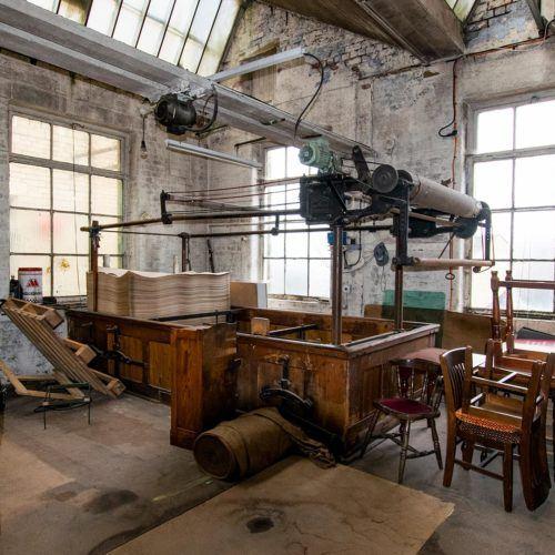 Sunny bank Mills workshop area