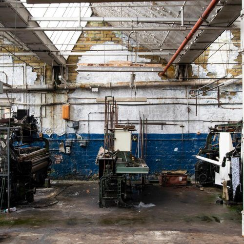 Sunny bank Mills workshop area