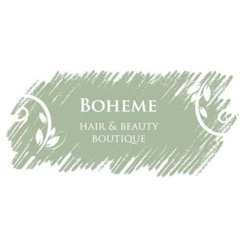 Boheme Hair and Beauty logo