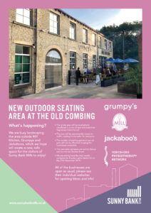 Old Combing outdoor seating brochure