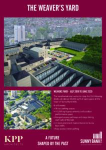 The weavers yard brochure